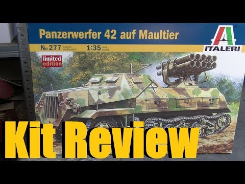 Kit Review: Italeri Panzerwerfer 42 In 1/35 Scale
