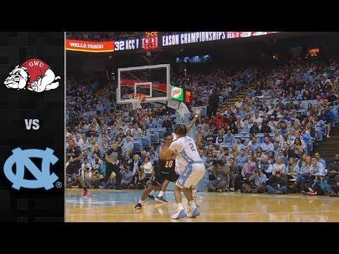 Gardner-Webb vs. North Carolina Men's Basketball Highlight (2019-20)