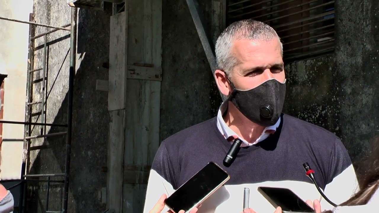 Declaraciones del Intendente Placenzotti sobre la marcha a la Comisaría