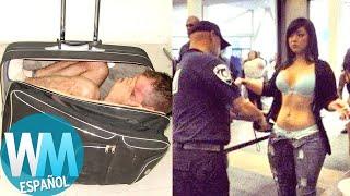 ¡Top 10 Cosas Más LOCAS Confiscadas en los Aeropuertos!