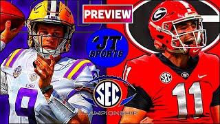 LSU vs Georgia Preview & Prediction | SEC Championship 2019 | College Football | CFB