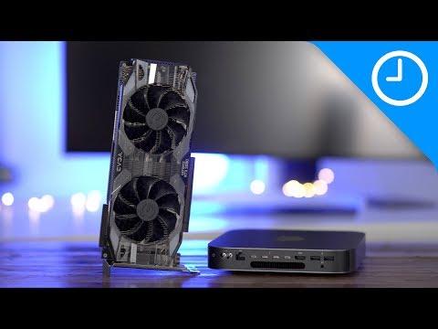 2018 Mac mini + Nvidia RTX 2080 eGPU! Good for gamers?
