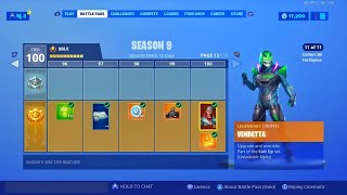 How to REACH 100 TIER EASILY with this glitch (Any challenge) Fortnite glitches season 9