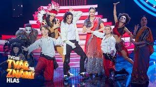 Milan Peroutka jako Michael Jackson