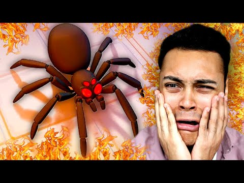 I KILLED ALL OF THE SPIDERS (Kill it With Fire) |