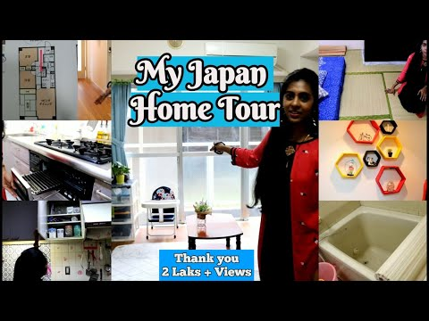 My JAPAN Apartment Tour with blueprint|Home tour Tamil|Tokyo Apartment tour|Japanese Home Tour