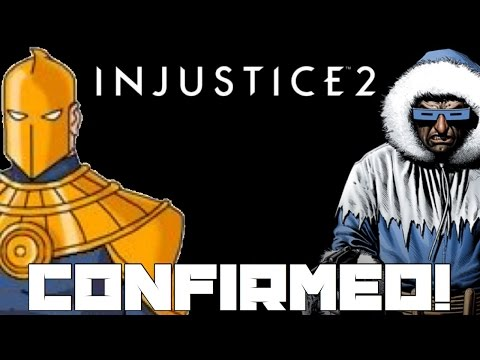 Injustice 2 - Dr. Fate, Captain Cold, Harley Quinn, And More Confirmed!