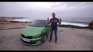 видео Тесты новой Skoda Fabia Combi
