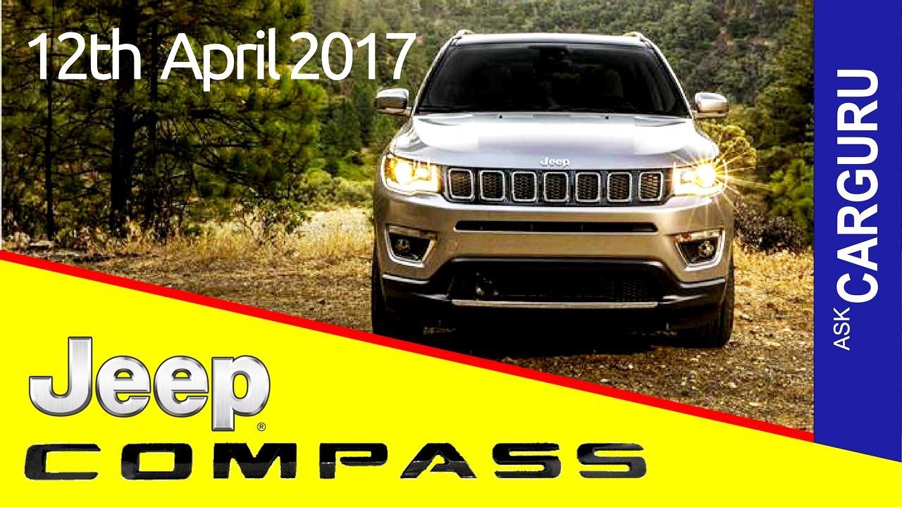 Jeep Comp Carguru ह न द म Price Average Engine Interior Safety Launching Date