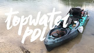 Topwater 120 PDL, Better than the 2019 Hobie Outback?