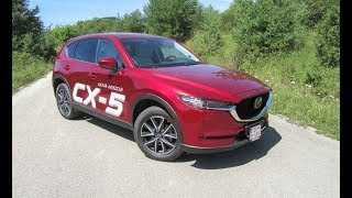 Redakčný TEST TMazda CX-5 2,2 Skyactiv-D175 AWD A/T Revolution TOP 2017 | Car Test