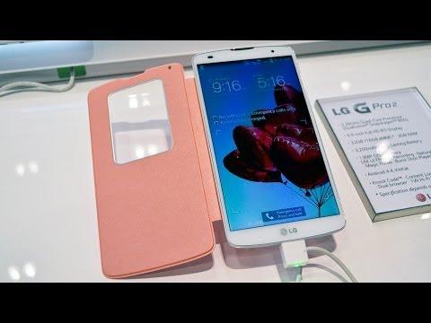 LG G Pro 2, impresiones MWC 2014