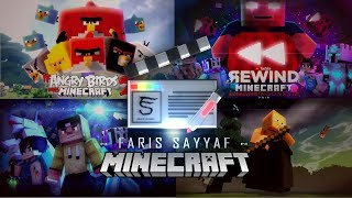 Minecraft Animation Reel 2018 - Faris Sayyaf