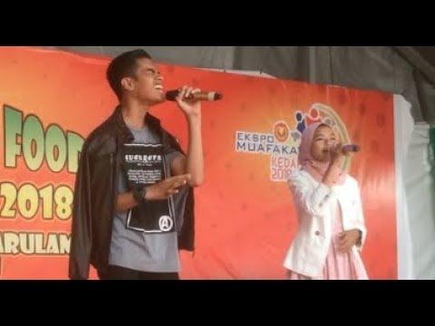 Syafa Wany & Ku Faiz - Aku Masih Setia (Live Kedah Best Street Food Fest 4.0)
