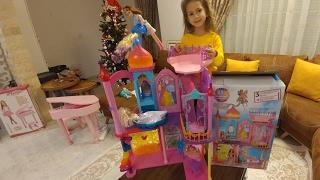 Волшебный ЗАМОК БАРБИ.Летающие феи.Видео для детей.Игра для детей.