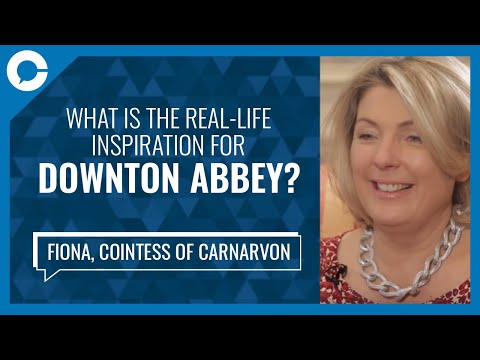 Author Lady Fiona: The Real Downton Abbey