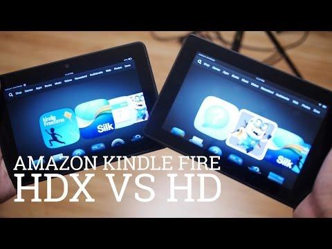 Amazon Kindle Fire HDX vs HD