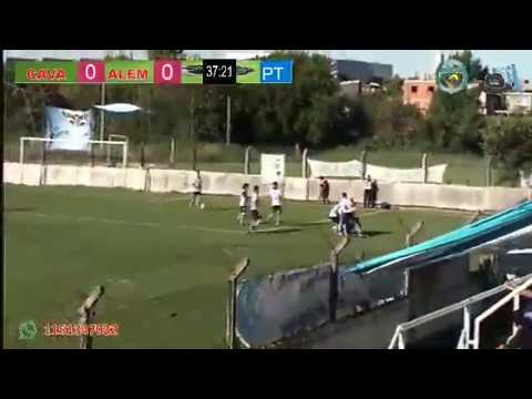 Primera C : VICTORIANO ARENAS 1 - 0 LEANDRO N. ALEM (El Gol)