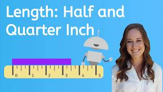 How to Measure Hąlf Inches and Quarter Inches