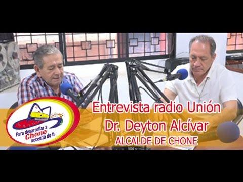 Entrevista radio Unión - Dr. Deyton Alcívar