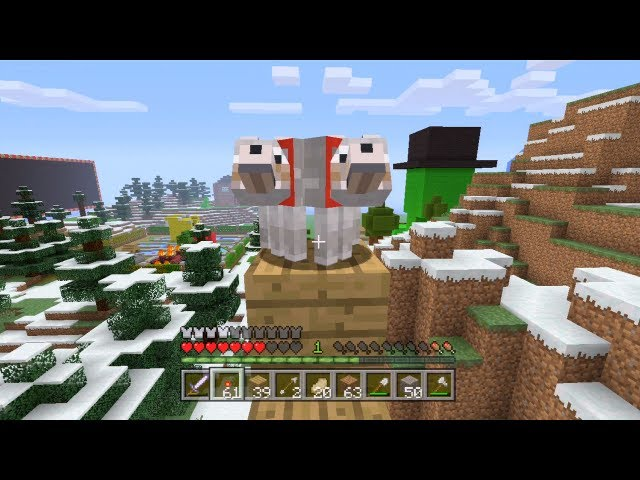 Minecraft Xbox - Mutant Dog [56] Travel Video