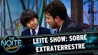 Leite Show: Sobre ETs   The Noite (19/06/17)