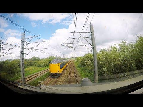 4K Cab Ride NL Den Haag Centraal – Gouda – Utrecht Centraal / IC 2055 / 12-08-2017