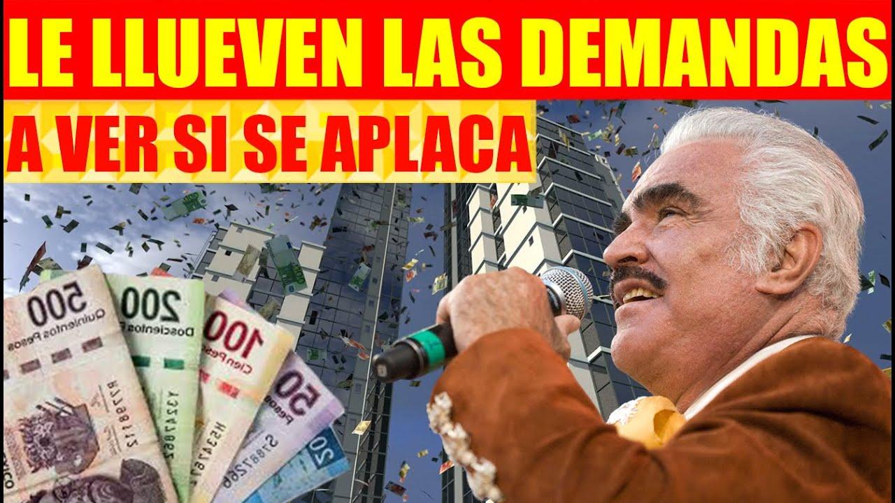 Le Piden a Vicente Fernández 20 millones de Pesos Para Indemnizar a Víctimas