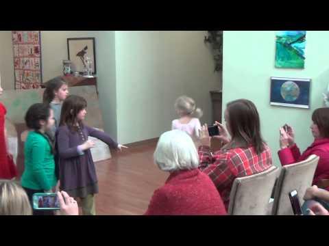 Montessori at Sandy Ford Winter Celebration - Mr. Bun