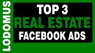 Top 3 Real Estate Facebook Advertenties Voorbeelden
