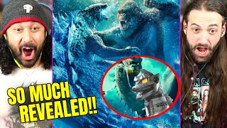 Godzilla Vs Kong | FIRST LOOK AT MECHAGODZILLA & Why Godzilla Goes Bad REVEALED - REACTION!! (GVK)