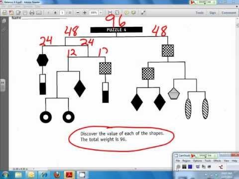 Hanging Balance Puzzle Solve YouTube