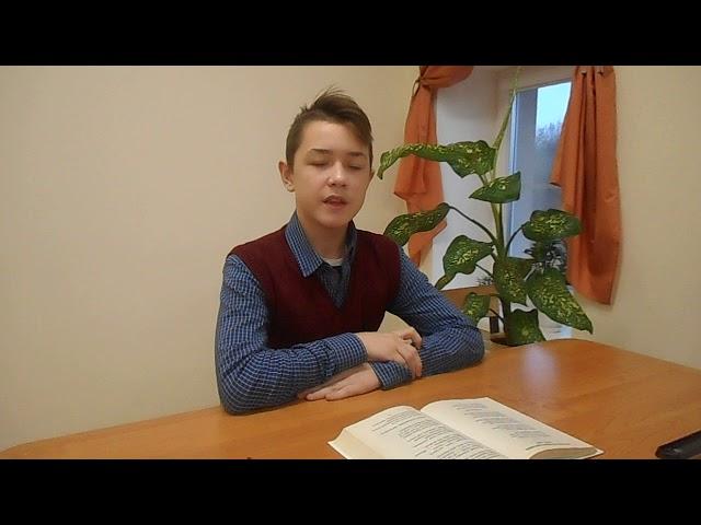 Изображение предпросмотра прочтения – МаксимЕгоров читает произведение «Бежит тропинка с бугорка» М.И.Цветаевой
