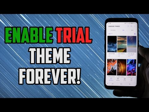 How to ACTIVATE Trial Theme FOREVER | New Updated Trick
