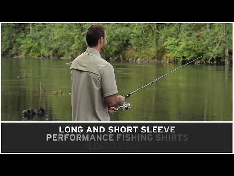 Eddie Bauer EB600 & EB602 Performance Fishing Shirt - Buy At ApparelnBags.com