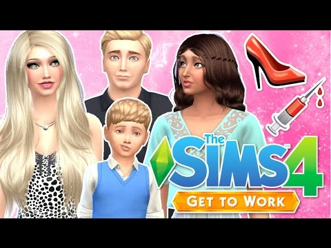Let's Play : The Sims 4 Get To Work | Part 29 - Royce Moves In!