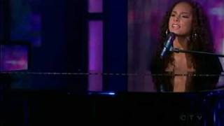 """Alicia Keys - """"Try Sleeping With A Broken Heart"""" - Live @ Oprah Show"""