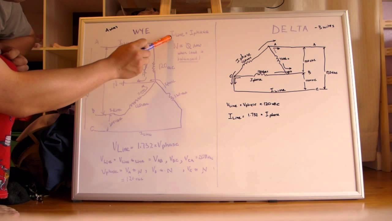3 Phase Star Delta Wiring Diagram