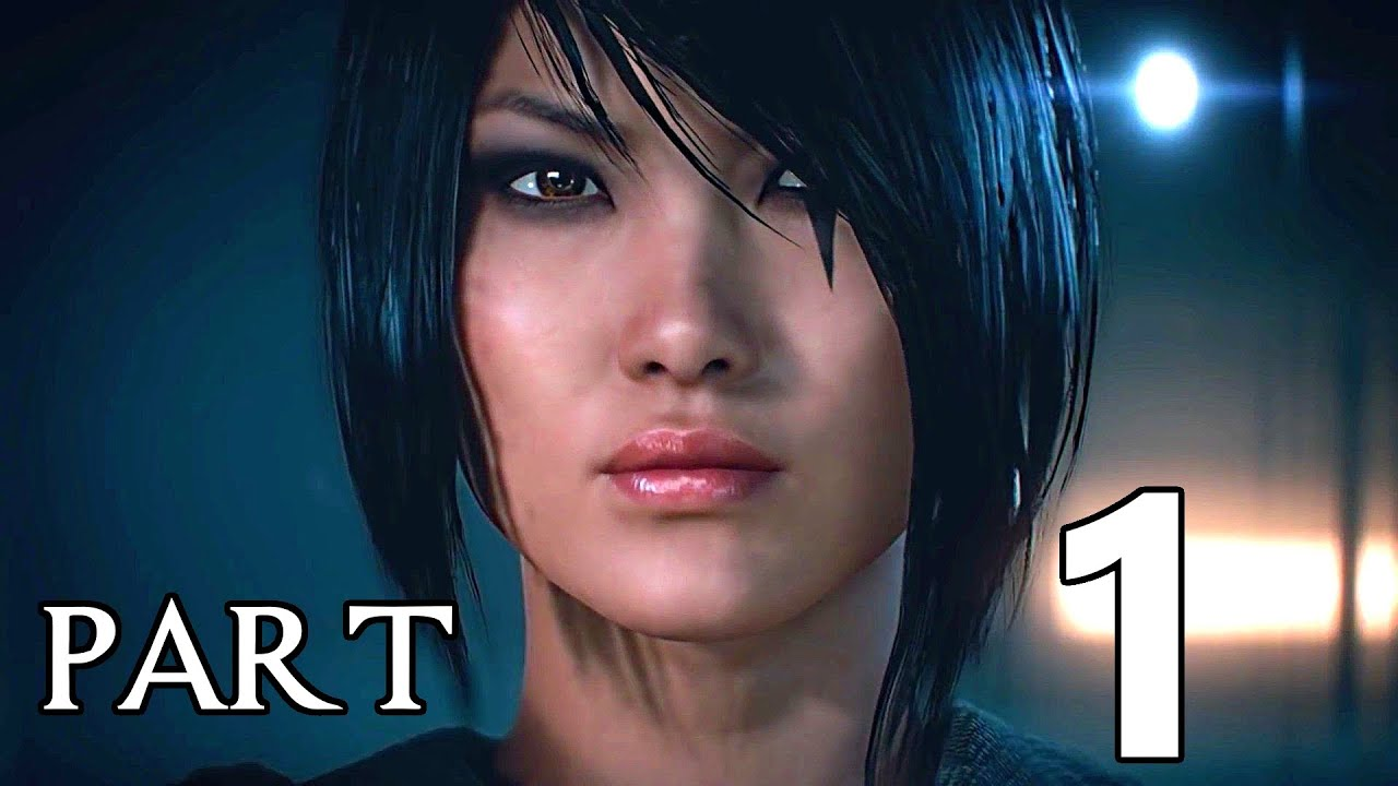 Mirror 39 s edge catalyst gameplay walkthrough part 1 city for Mirror gameplay walkthrough
