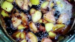 Делаем вино у себя дома из яблок и черноплодной рябины