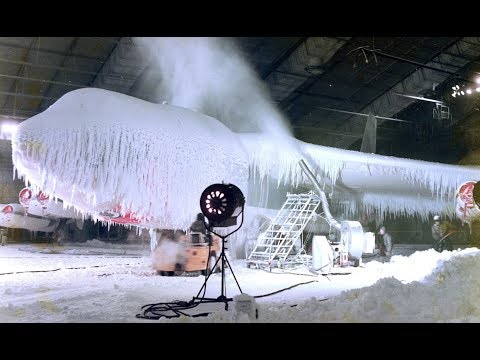 The US Air Force can create ice storms and sandstorms inside this