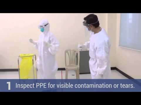 Donning and Doffing of PPE HD