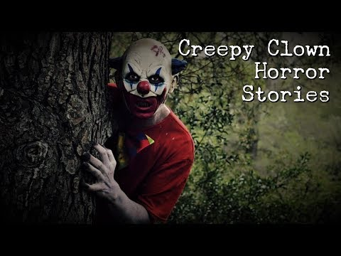 4 Creepy Clown Stories [Clown Stalkers & Sightings]