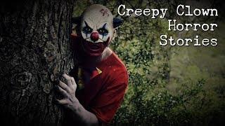 4 Creepy Clown Horror Stories *NOSLEEP*