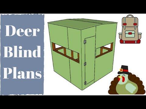 Deer Blind Plans - YouTube