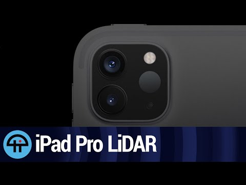 How The iPad Pro uses LiDAR