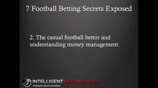 7 Football Betting Secrets Exposed | Sports Betting Strategy