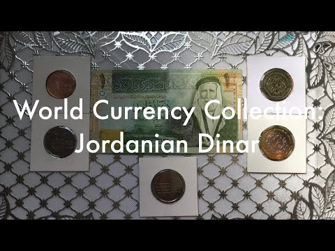 World Currency Collection: Jordanian Dinar 🇯🇴