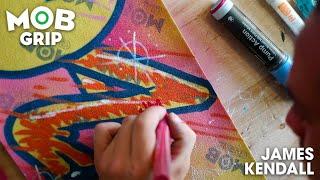 Graffiti to Grip Tape Art with James Kendall | Talkin' MOB