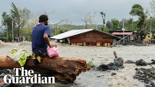 Super typhoon Goni causes heavy floods in several Philippine provinces